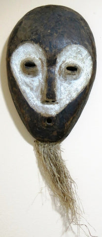 Idumu Mask with White Face