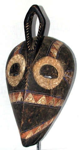 Bembe Initiation Mask with Horns
