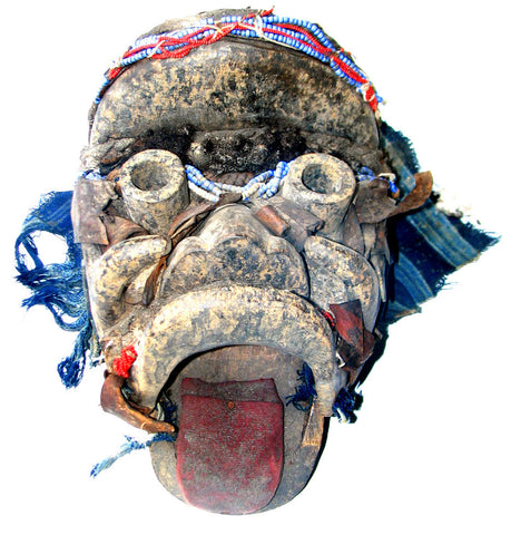 Dan Bagle Mask with Moveable Tongue