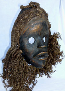 Bagle Mask with Cowriess & Cloth