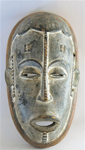 Shades of Grey Igbo Mask