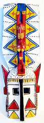Bright Dogon Mask