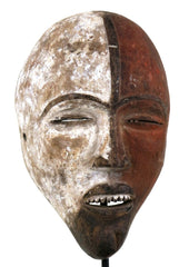 Igbo Red and White Spirit Mask