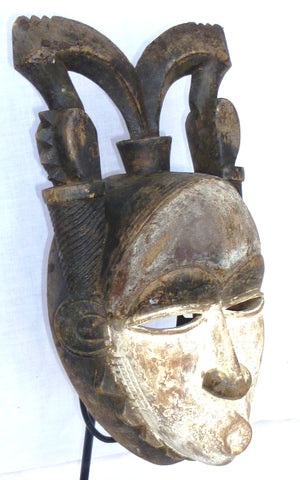 "Igbo ""Crowned"" Mask"