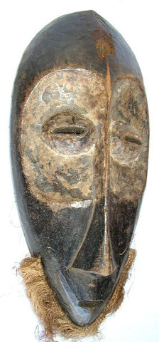Dark Lega  Mask with Light Circle