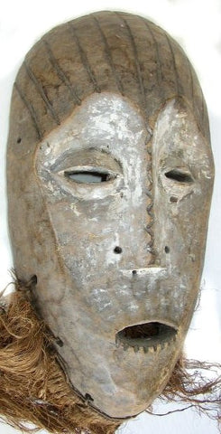 Lega  Mask with Striped Scalp