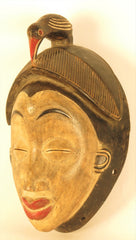 Punu Okuyi Mask with a Bird
