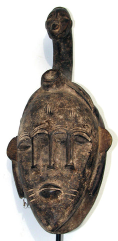 Senufo Mask with Many Faces