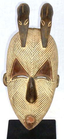 Songye Mask with two Birds