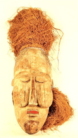 Kakungu Ceremonial Mask of the Suku People