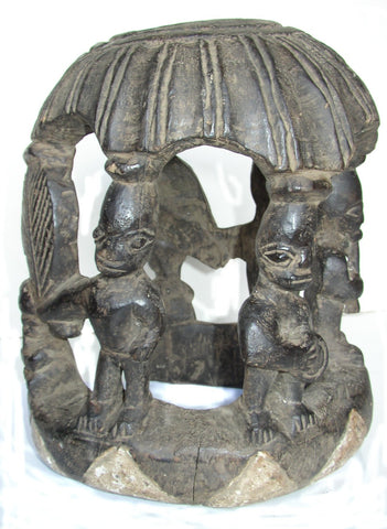 Yoruba Ceremonial Headdress