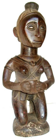 Baga Kneeling Female Figure