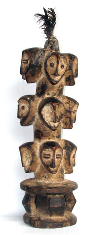Multiheaded Human Figure