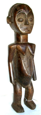 Ngbaka Ceremonial Female Figure