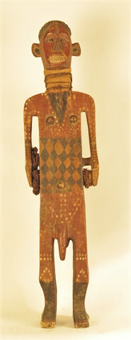 Rare Ntomba Ceremonial Man Vessel