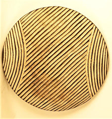 Bamileke Round Shield - of a different pattern