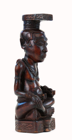 A Bushoong King (Ndop) Figure