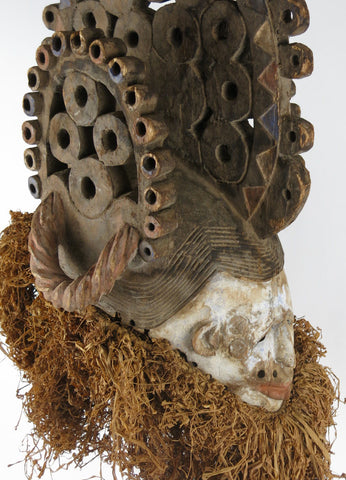 Igbo Mask with Superstructue