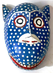 Bozo Blue Leopard Mask