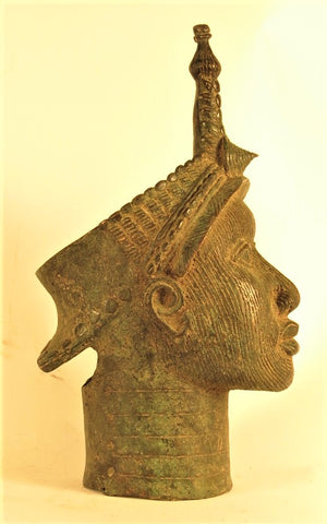 Ife Regal Bronze Head