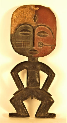 Punu Male Figure with a Key