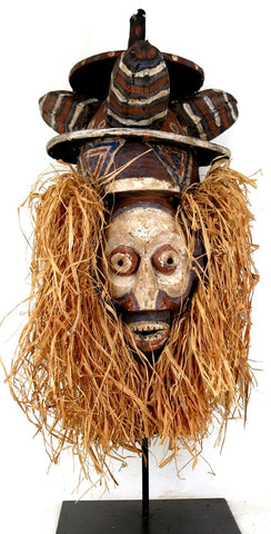 Yaka Kholuka Ceremonial Mask