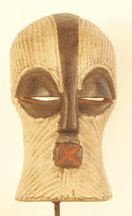 Songye Small White Female Mask