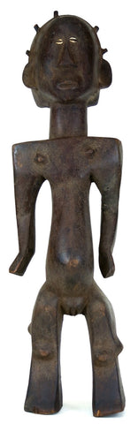 Rare Luba Nkisi Female Figure