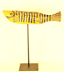 Bozo Yellow Fish Mask