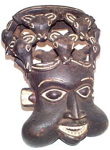 Royal Ceremonial Mask of Cameroon