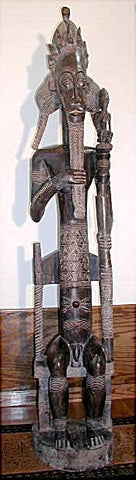 Male Bush Spirit Figure or Mbra