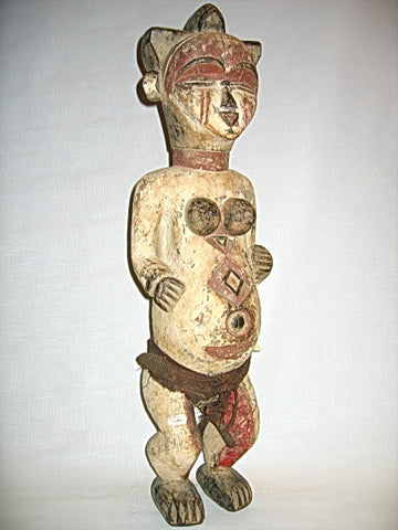 Punu Female Ancestor Figure