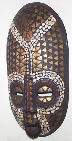 Decorative Mask from Ghana