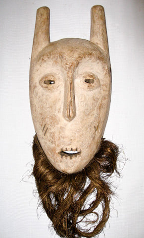 Kayamba Mask by Lega Tribe