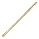 Gold VVS Diamond Tennis Bracelet