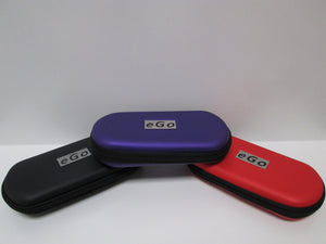 EGO empty large case for carrying your batteries etc showing black, purple and red colors