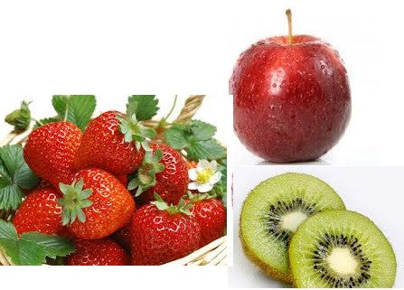 Kiwi apple strawberry e-liquid