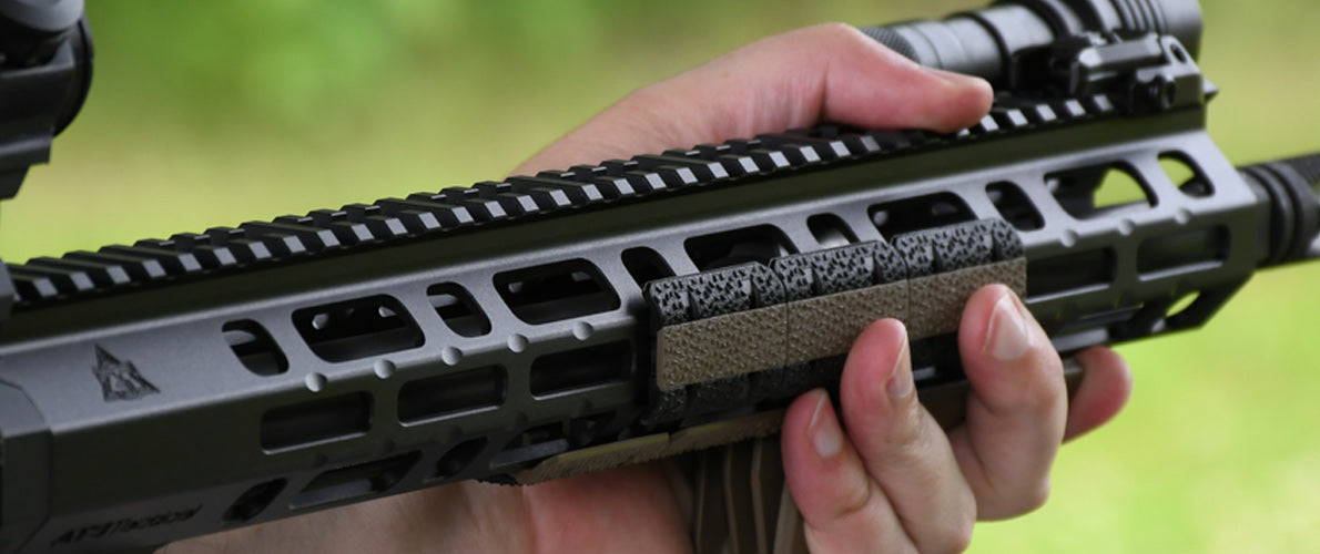 The New AT3™ SPEAR M-LOK™ AR-15 Free Float Handguard - 12 & 15 inch Lengths