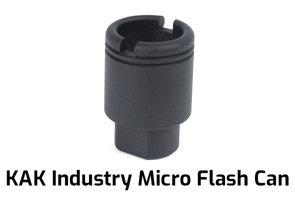 KAK Industry Micro Flash Can, 1/2-28 Thread