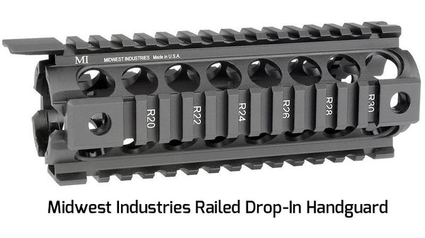 Midwest Industries Railed Drop-In Handguard