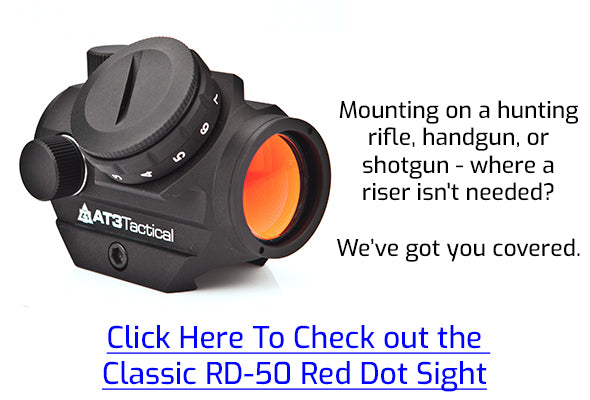 Click here for the Classic RD-50 without a Riser Mount