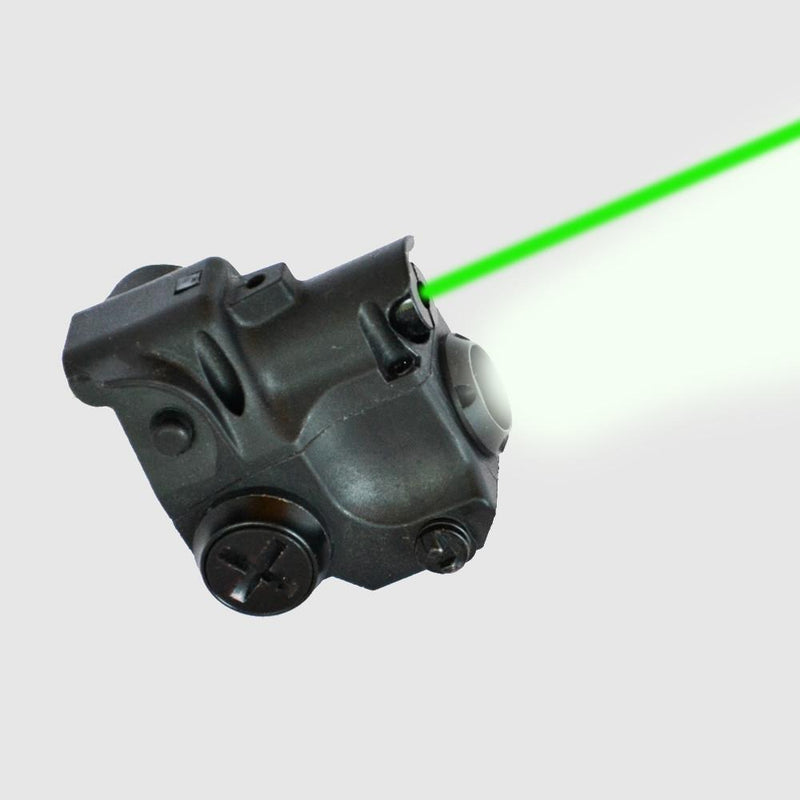 AT3 Tactical Subcompact Green Laser Light Combo with LED Flashlight CLL-01