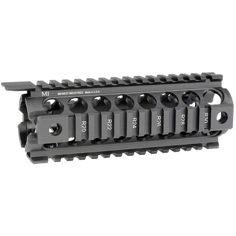 "MI 7"" AR-15 Gen2 Two Piece Drop-In Quad Rail Handguard - Carbine Length"