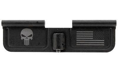 "Spike's Ejection Port Door Part Black ""Punisher & Flag"" Engraving SED7005"