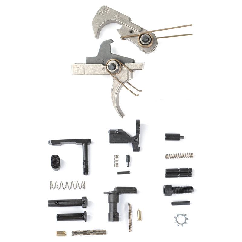 AT3™ Enhanced Lower Parts Kit with Nickel Teflon Trigger - No Grip or Trigger Guard