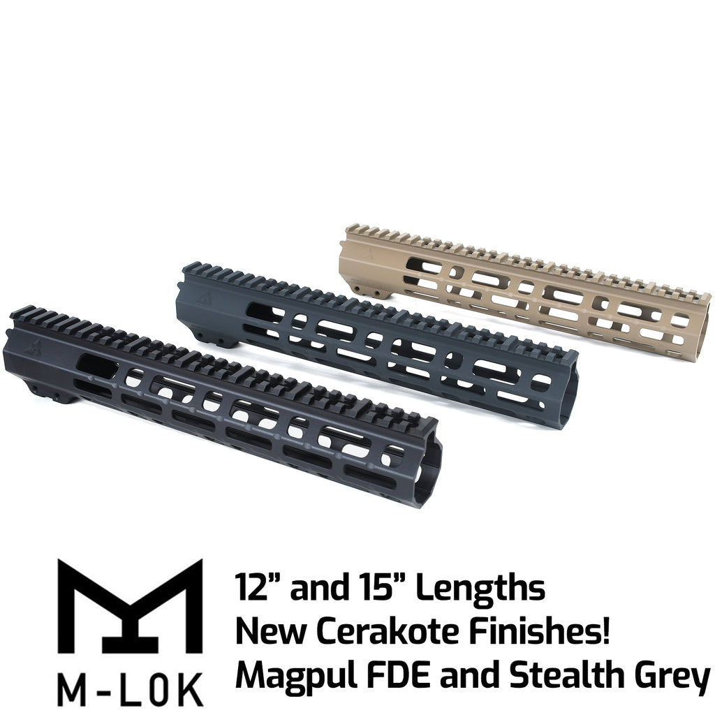 AT3™ SPEAR M-LOK™ AR 15 Free Float Handguard
