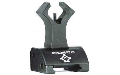 Backup Iron Sights - Diamondhead Front Sight - Folding - Same-Plane Height - AR15/M4/M16 - 1051