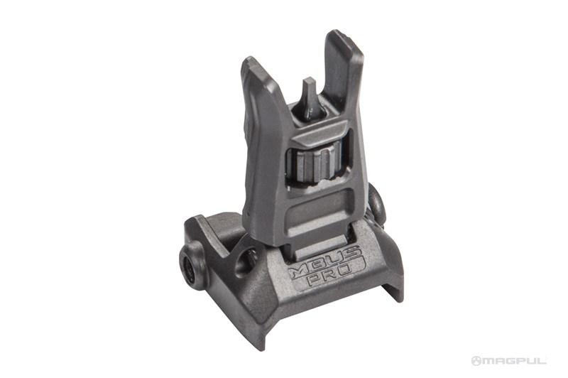 Backup Iron Sights - Magpul MBUS PRO Front Back-Up Sight - Steel - MAG275