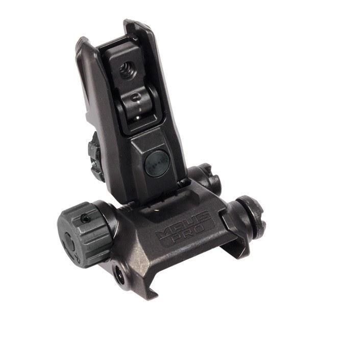Backup Iron Sights - Magpul MBUS Pro LR Adjustable Rear Sight - MAG527