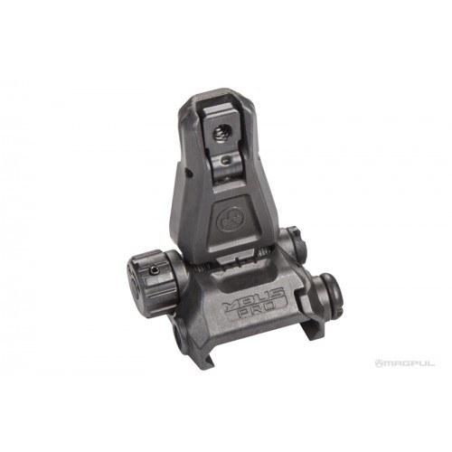 Backup Iron Sights - Magpul MBUS PRO Rear Back-Up Sight - Steel - MAG276